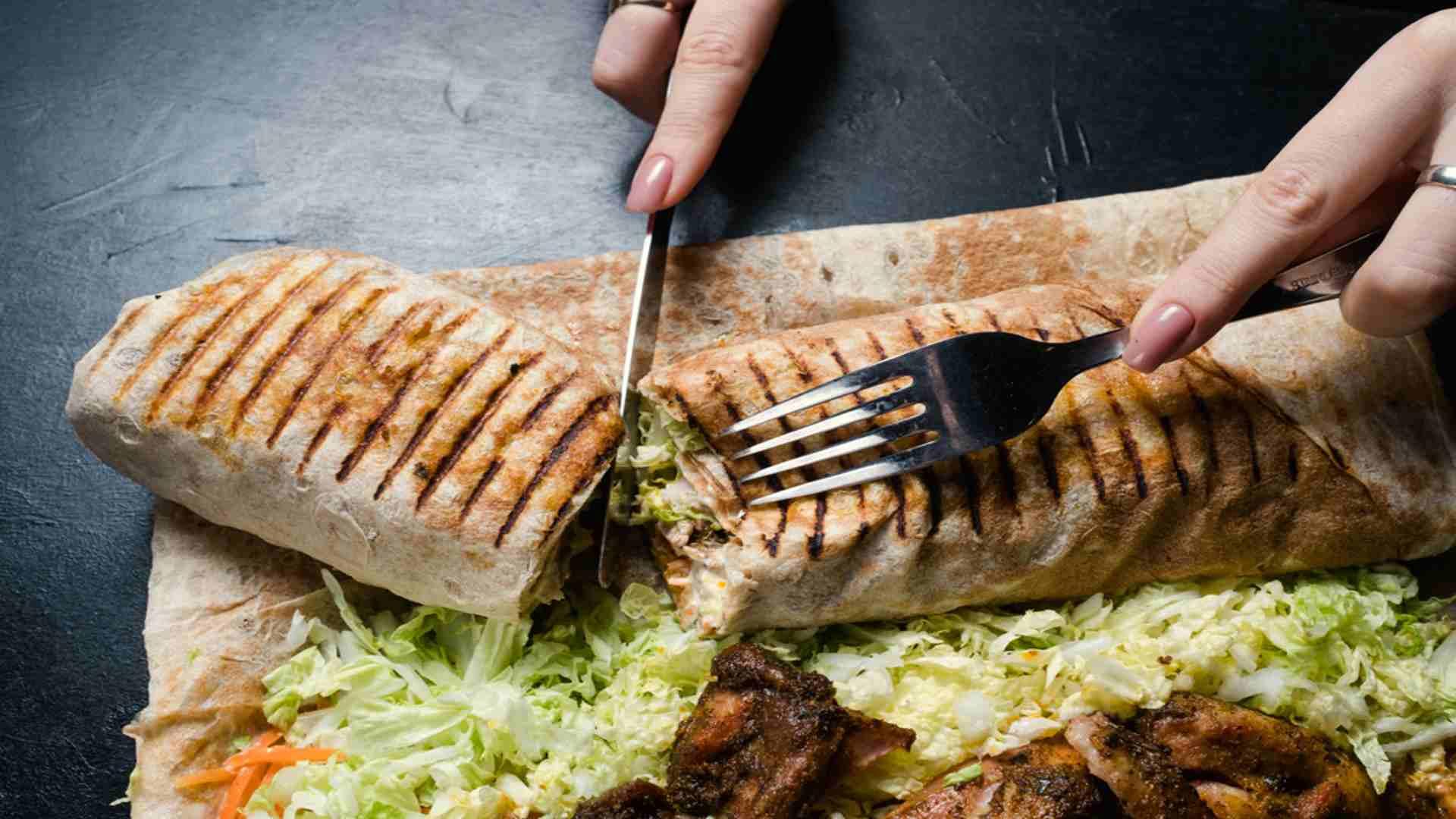 BBQ Ranch Steak Grilled Wrap