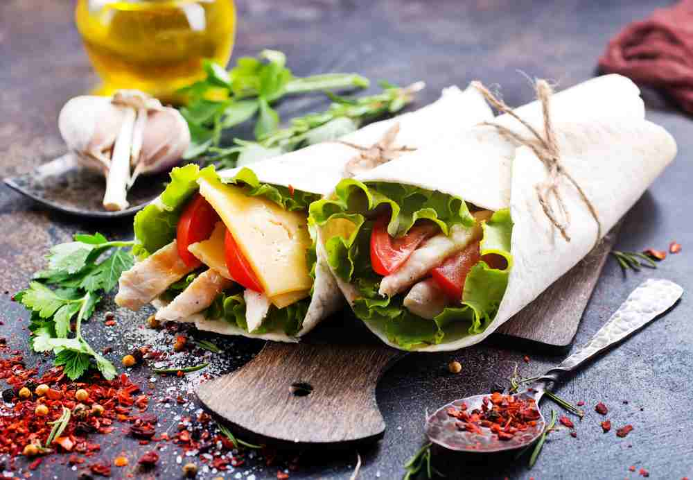 Create your own bowls Salads Wraps